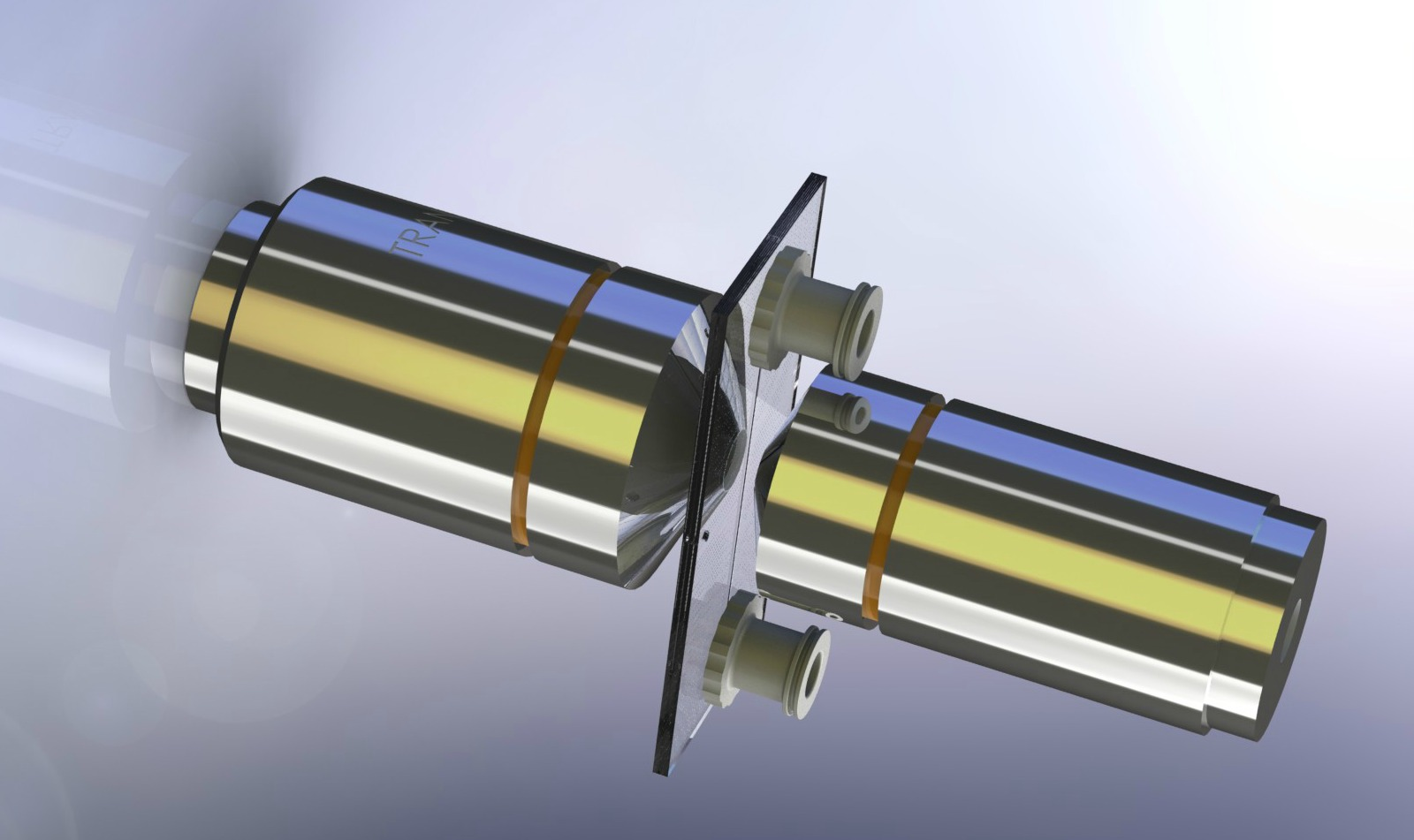 Flow cells are optically transparent on both sides